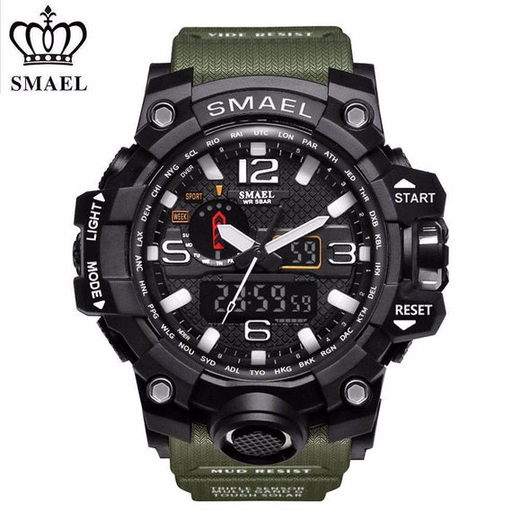 Smael Military Men's Watch - Fancy Lifestyles