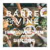 *Thanksgiving Wine Selection - The Classics (6-pack)