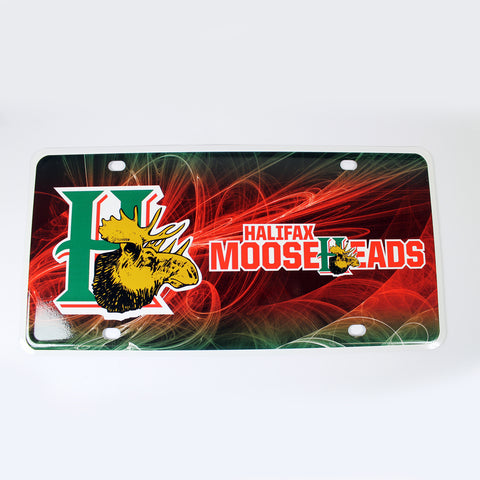 Mooseheads License Plate