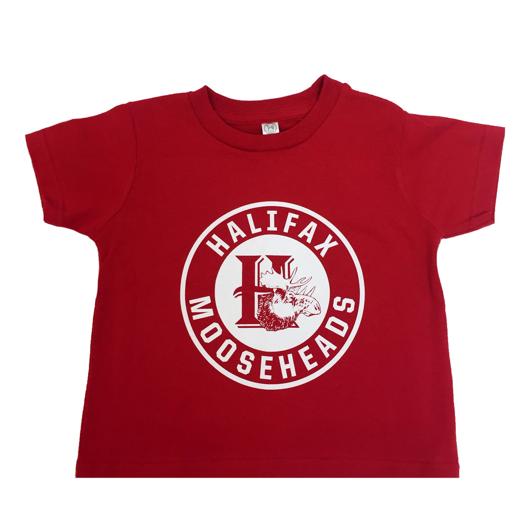 7f17ee4bf Toddler Round logo Red – Official Halifax Mooseheads Shop