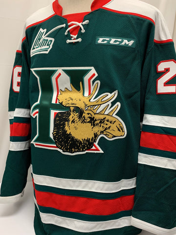 Halifax Mooseheads 2014/2015 Game Worn Jerseys