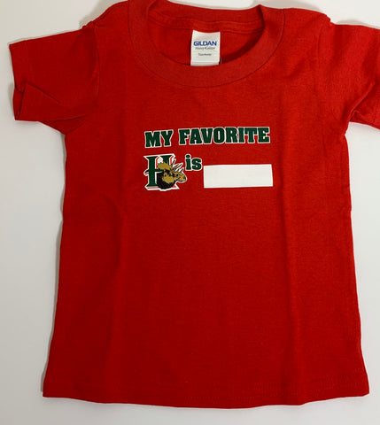 Toddler Fav Player Tee