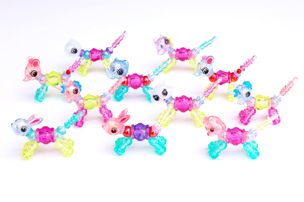 Magic Animal Twist Bracelet (Pink Mouse)
