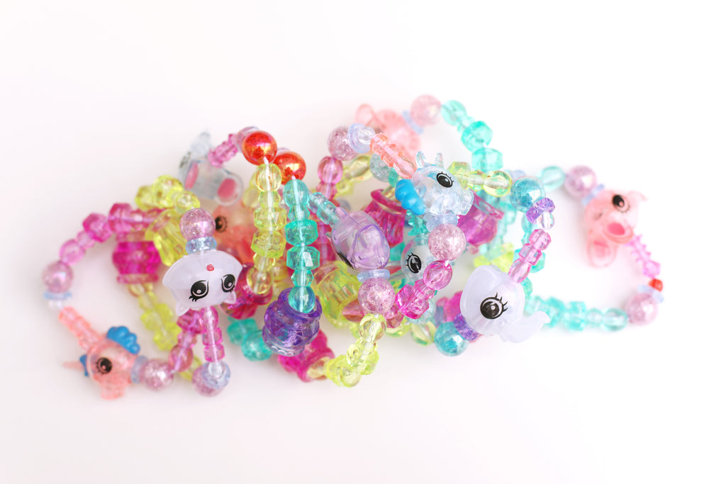 Magic Animal Twist Bracelet (Purple Horse)