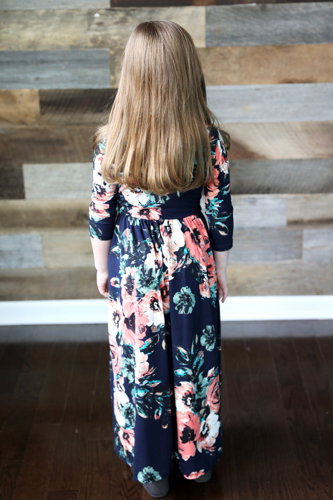 Harlow Floral Maxi (in 2 colors)