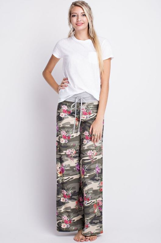 Felicity Floral 'n' Camo Loungers