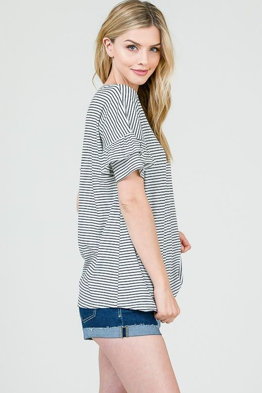 Josie Striped Top