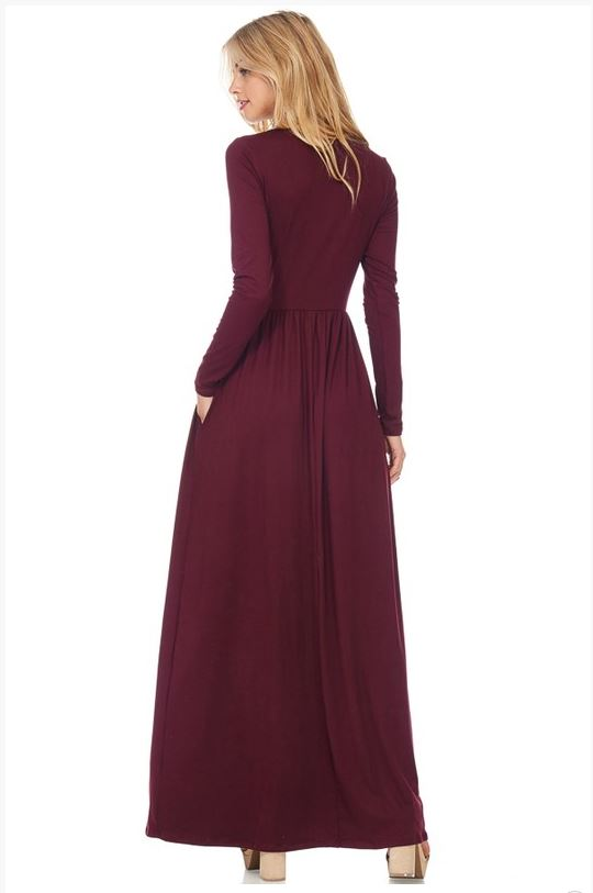 Best Selling Solid Maxi