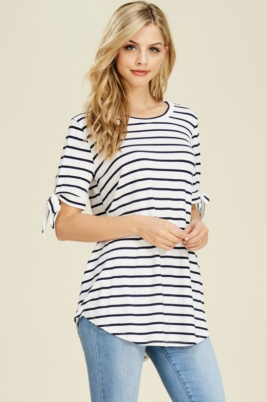 Marlee Stripe Top (in 2 colors)