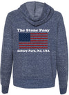 Flag themed Women's Zip  Hoody