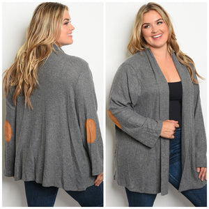 Candace Charcoal Cardigan