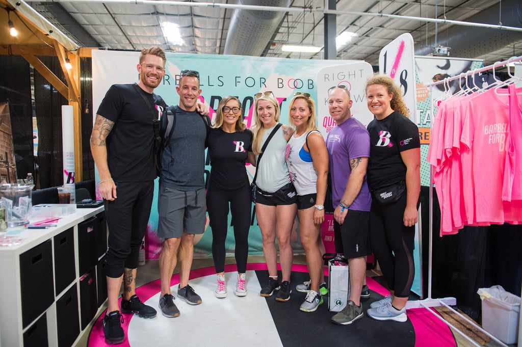BFB at the 2018 CrossFit Games
