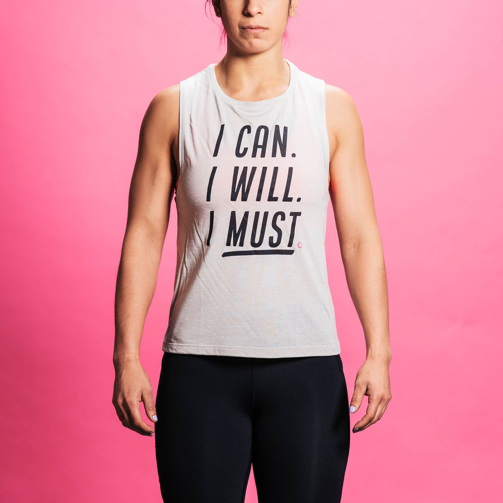 Women's Can Will Must Tank
