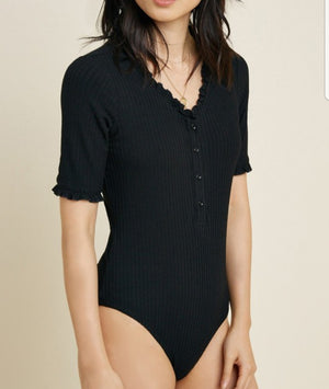 Button Down Bodysuit