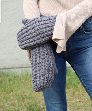 Fleece Lined Mittens(2 colors)