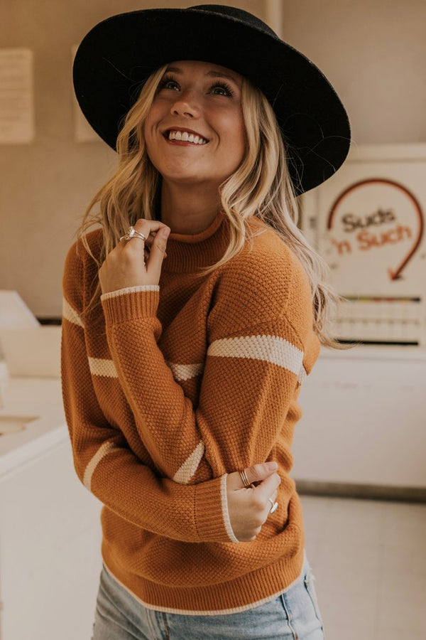 Mustard Textured Sweater