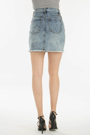 KanCan Acid Wash Skirt