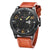 Curren 8251 fashion sport with week Date display Leather strap watch for men