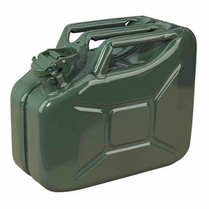 Jerry Can 10L Green Metal