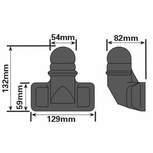 Tow Ball Bar Cover Protector Boot