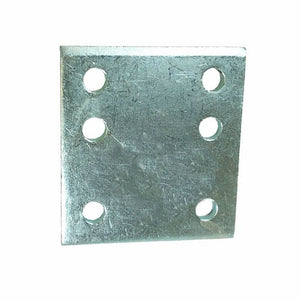 "Tow Ball Drop Plate 4"" 6 Hole"