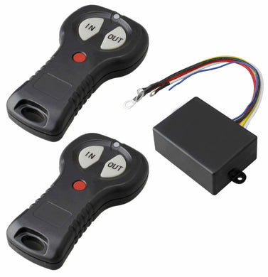 Winch Electric Wireless Remote Control Switch Twin Handset 12v