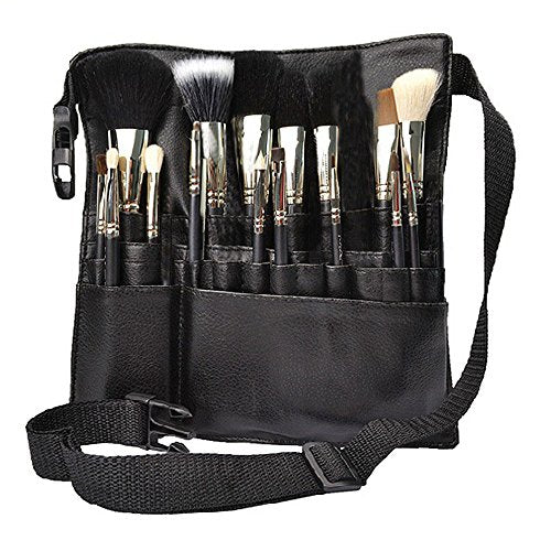 22 Pocket Professional Makeup Brush Bag
