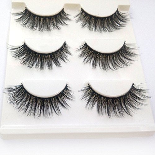 Dramatic 3D False Lashes