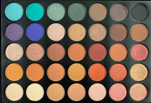 Pigmented Matte and Shimmer 35 Color Palette