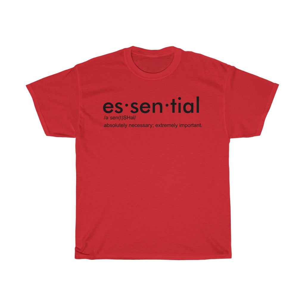 """Essential"" Unisex Heavy Cotton Definition Tee"