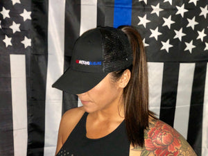 Women's RWBL Ponytail Hat