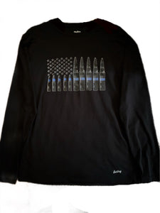 Long sleeve dri-fit ammo flag shirt