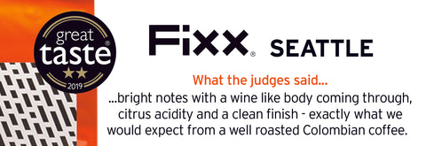 FiXX Seattle coffee
