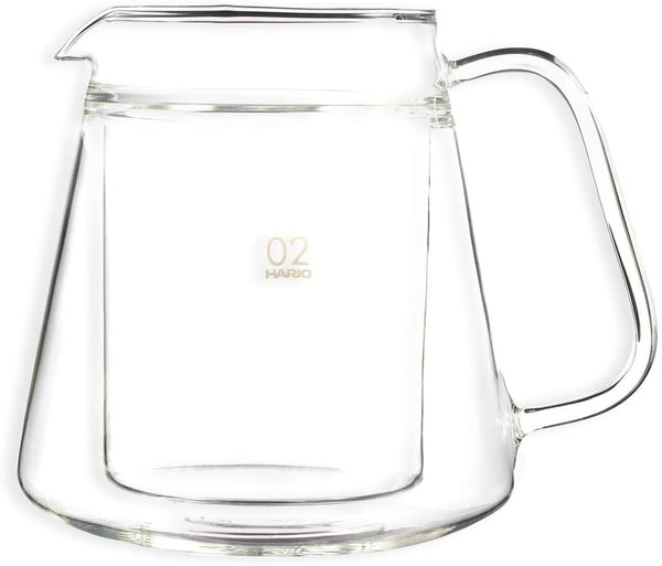 Hario V60 Double Glass Coffee Server
