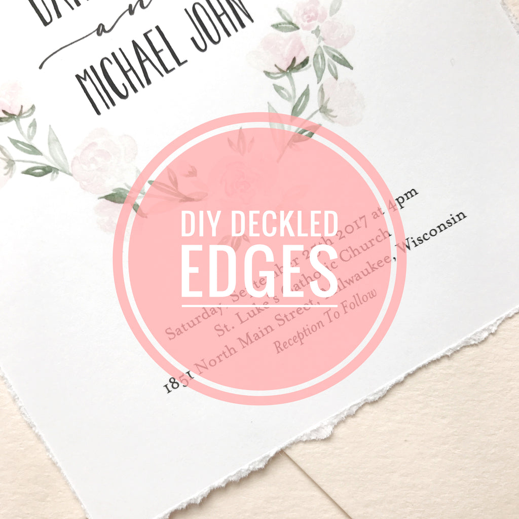 Everything you Need to Know about Deckled Edges