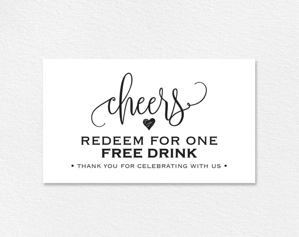 free drink ticket template  wedding printable  drink ticket wedding te  u2013 bliss paper boutique