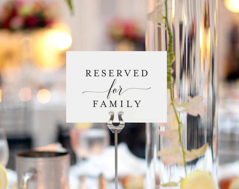 free reserved printable reserved wedding sign reserved table sign