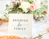 FREE Reserved Printable, Reserved Wedding Sign, Reserved Table Sign, Wedding Printable, PDF Instant Download #BPB320_42 - Bliss Paper Boutique