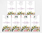 Nursery Closet Dividers, Baby Closet Dividers, Closet Organizer, Nursery Decor, Floral Nursery, PDF Instant Download #BPB328_7 - Bliss Paper Boutique