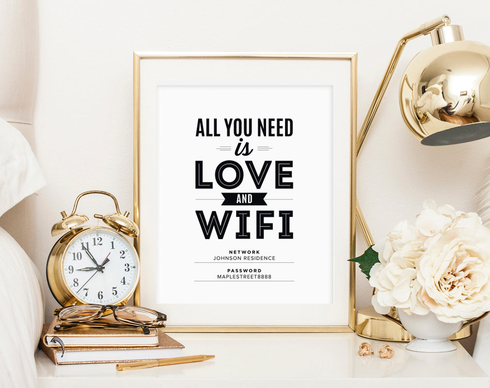 picture about Wifi Password Sign Printable called WIFI Pword Signal, Wifi pword printable, All Oneself Will need is Delight in and Wifi, Visitor Wifi, Visitor Area Indication, PDF Prompt Down load #BPB340_D