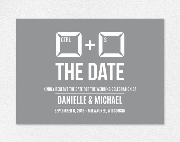 Funny Save The Date, Save the Date Printable, Unique Save The Date, Save the Date Ideas, Wedding Printable, PDF Instant Download #BPB12 - Bliss Paper Boutique