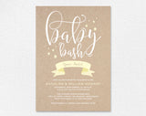 Baby Shower Invitation, Invitation Gender Neutral, Baby Bash Invitation, Shower Invitation Girl, Invitation Boy, Instant Download #BPB173_1 - Bliss Paper Boutique