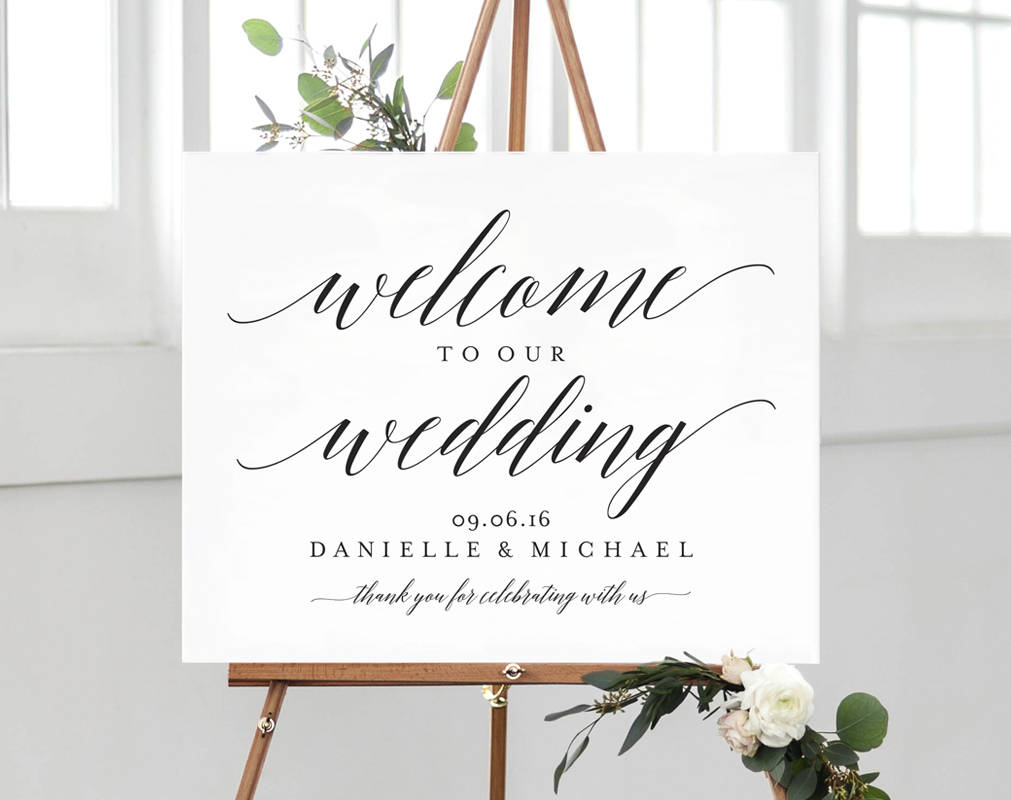 Welcome Wedding Sign Welcome Wedding Printable Welcome Sign Printable Template Bliss Paper Boutique Pdf Instant Download Bpb310 59b