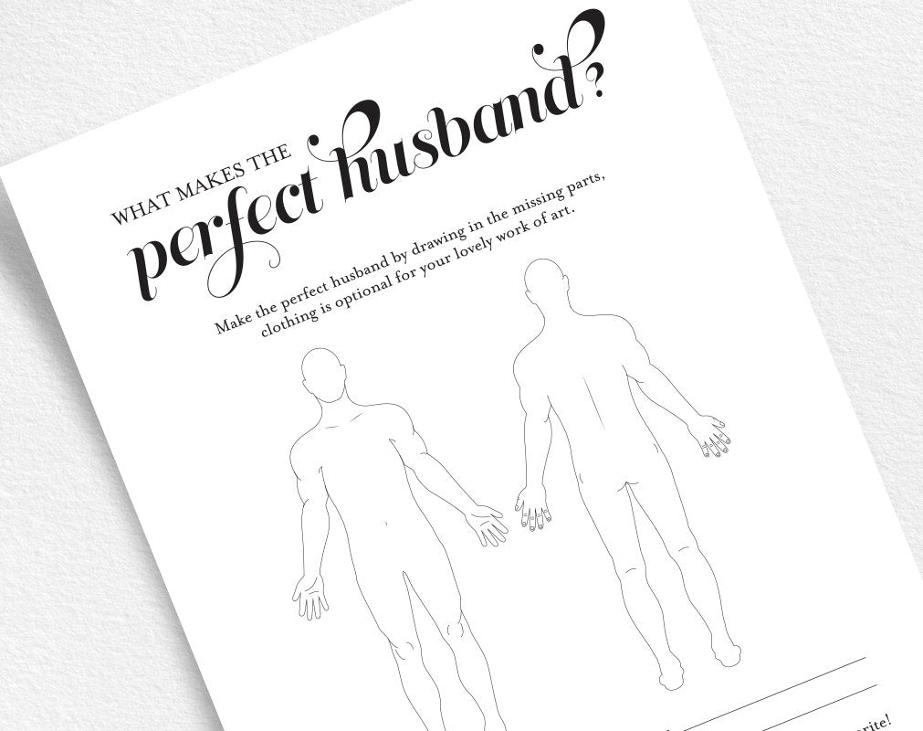 The perfect husband bridal shower game wedding shower games bridal the perfect husband bridal shower game wedding shower games bridal shower printable game maxwellsz