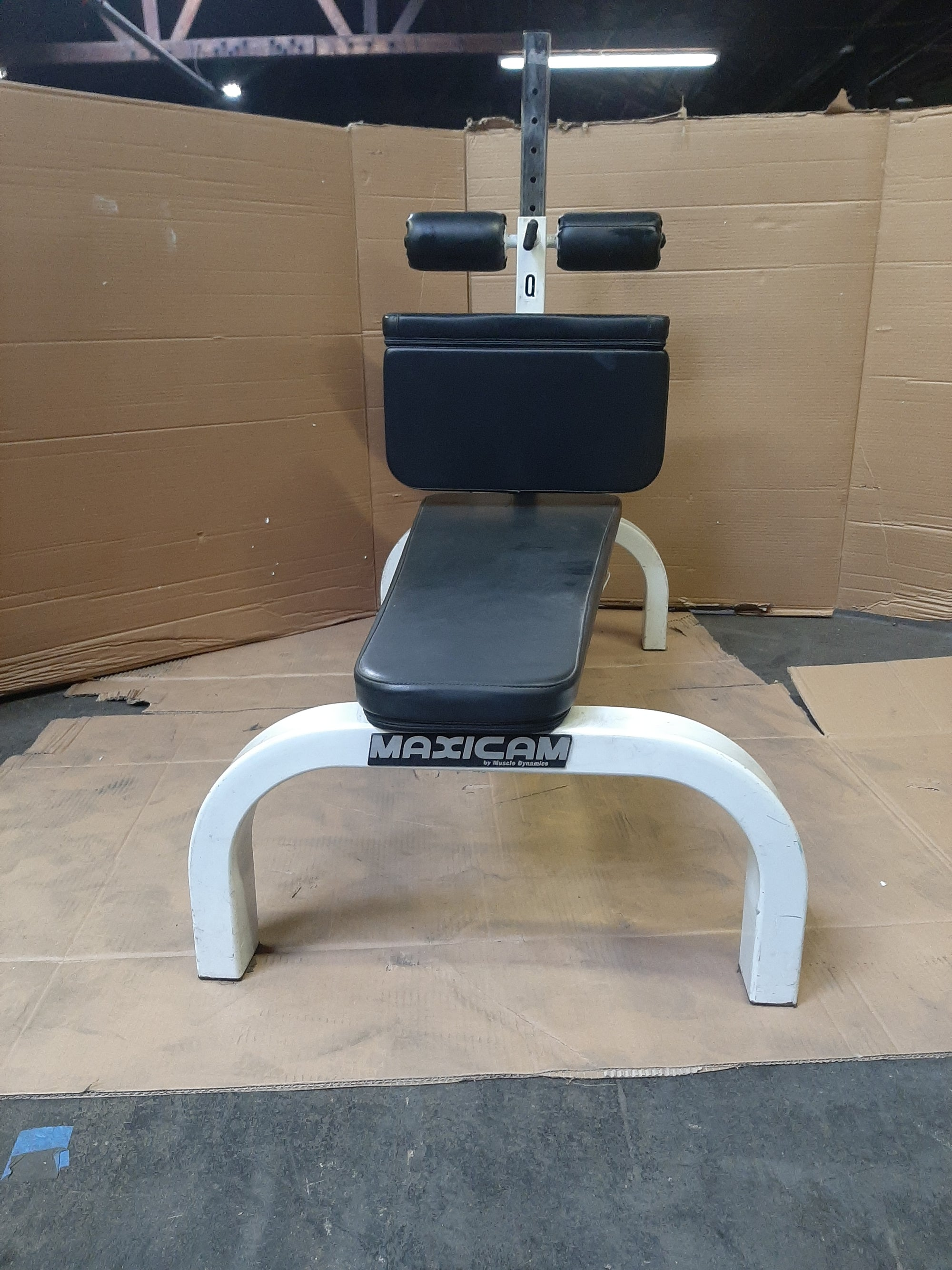 Maxicam Horizontal Ab Bench - Black