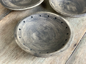 MATTE BLACK SALT & SPICE DISHES