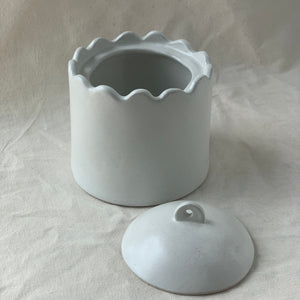 FRILLY POT