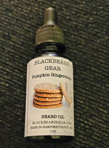 Pumpkin Gingersnap Beard Oil