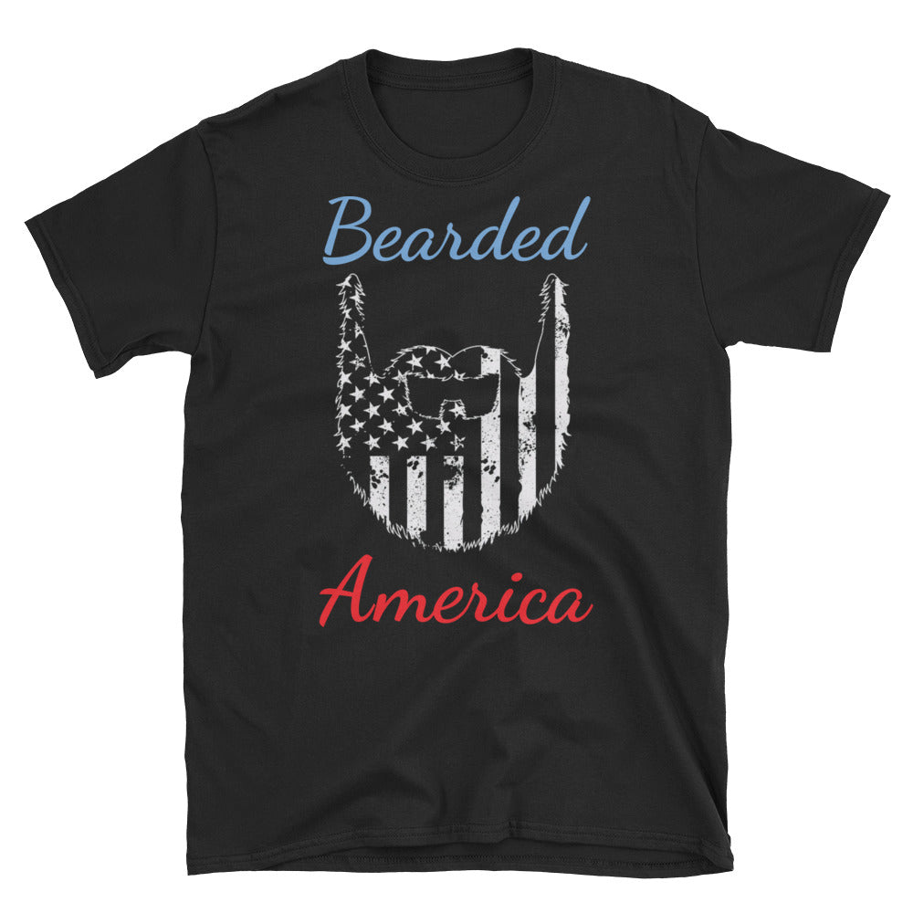 Bearded America Short-Sleeve T-Shirt