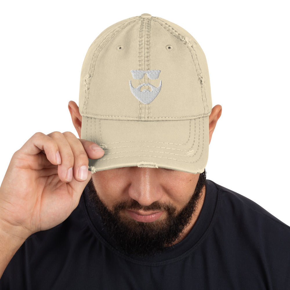 Blackbeard Distressed Dad Hat